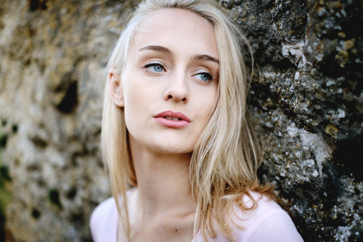 model face portrait style color